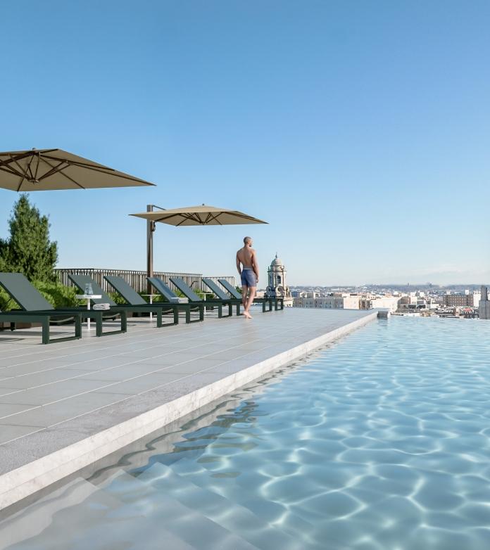Pool Side Image