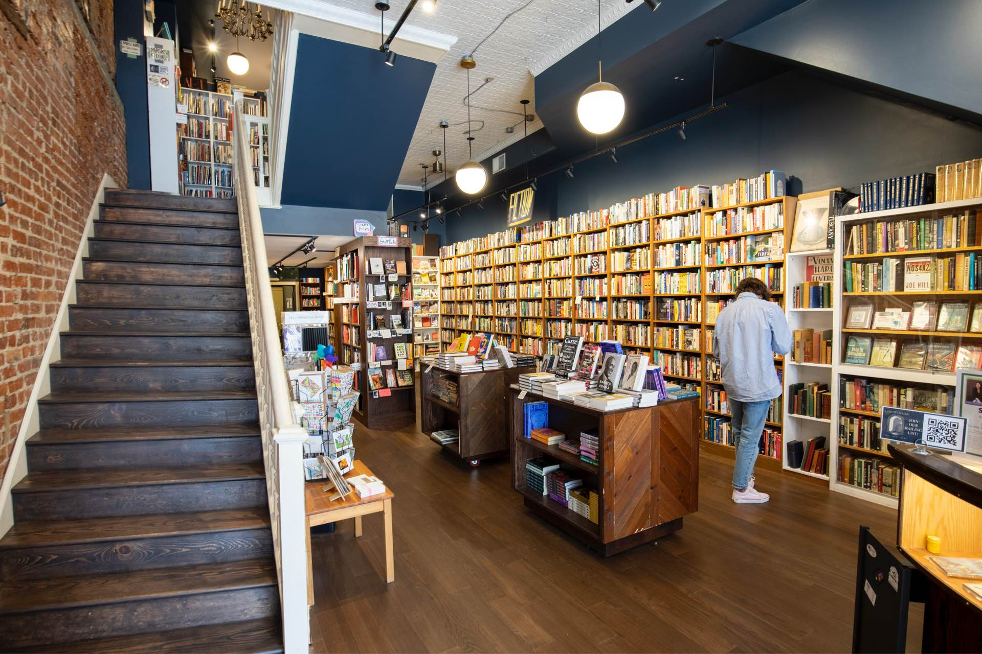 Nearby independent book store, Lost City Books
