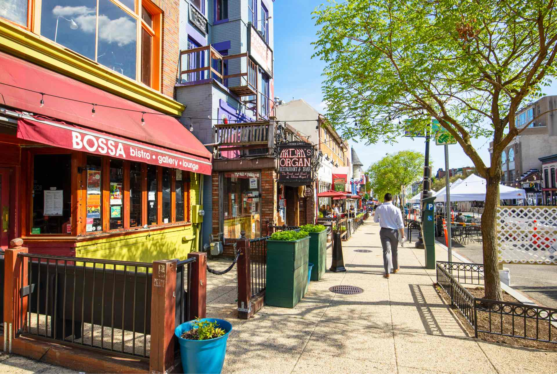 Retail, dining and entertainment in The heart of Adams Morgan