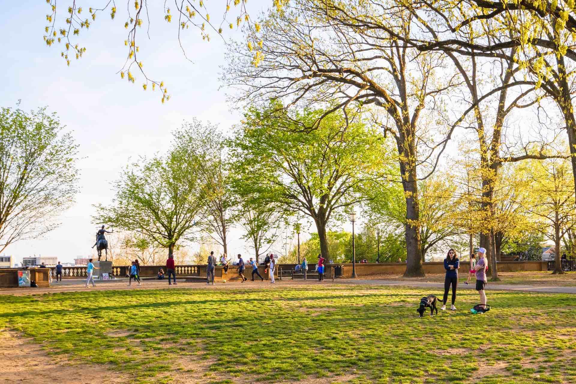 Meridian Hill Park urban preserve