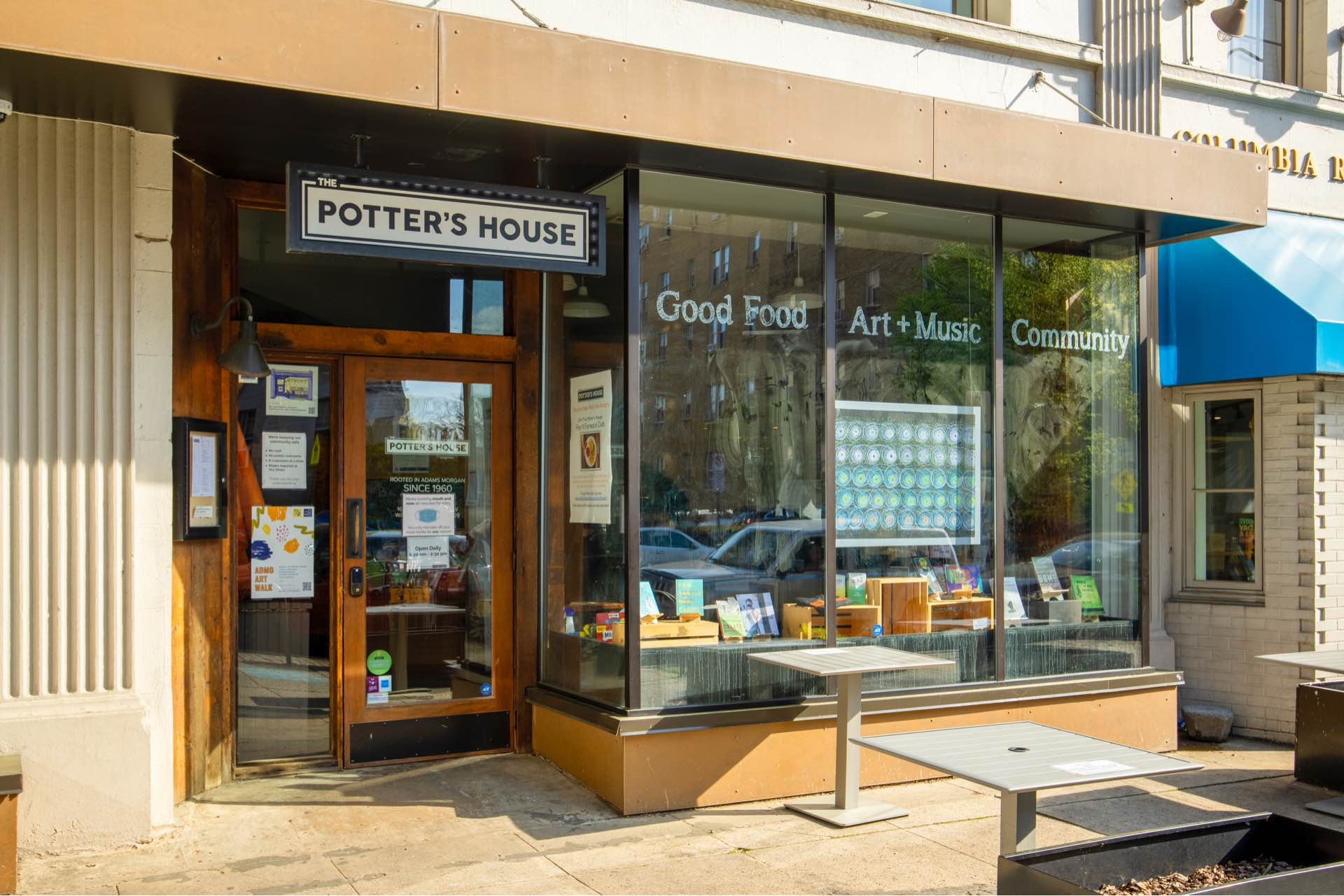 The Potter's House historic bookstore and café