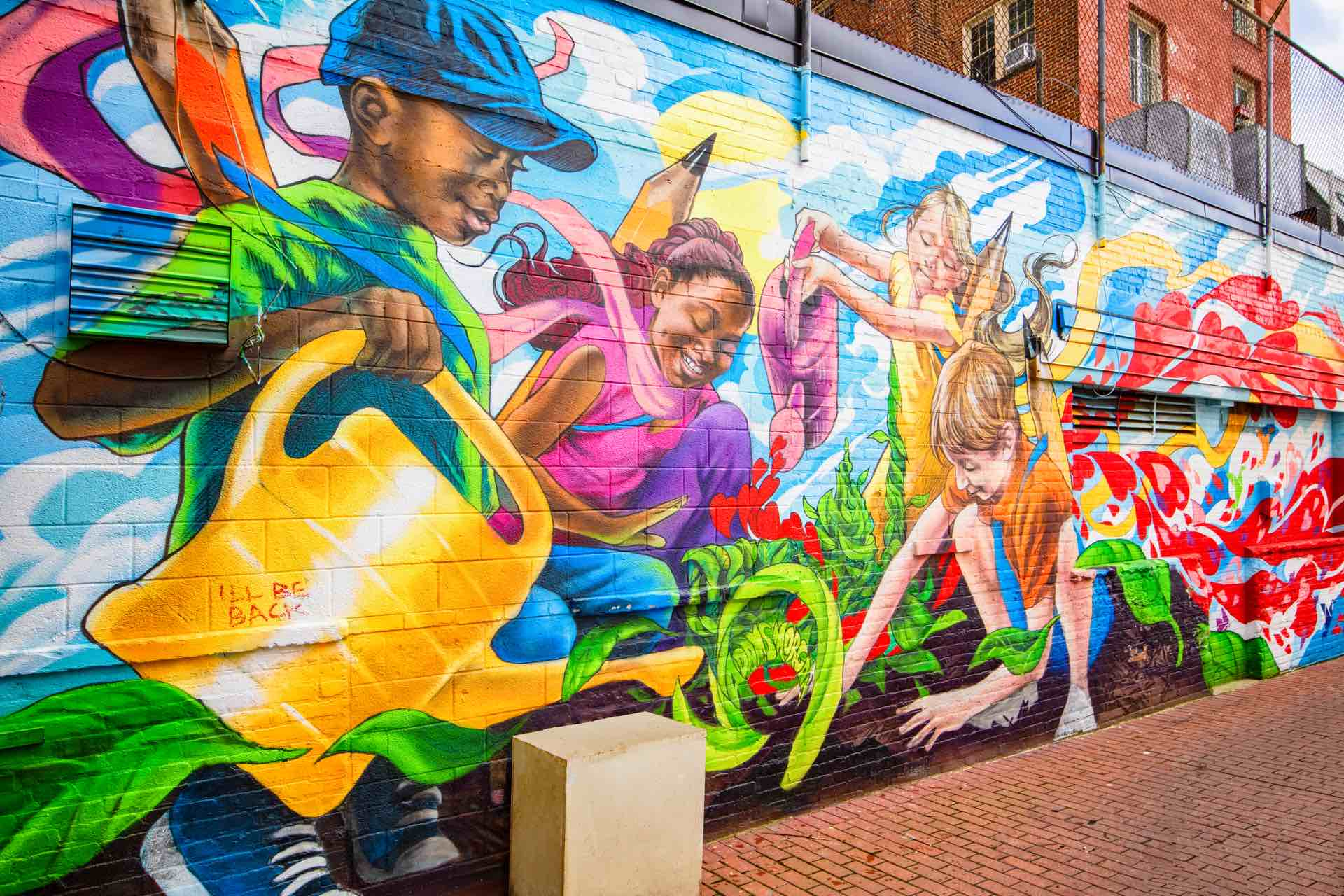 Adams Morgan is home to community art and engagement