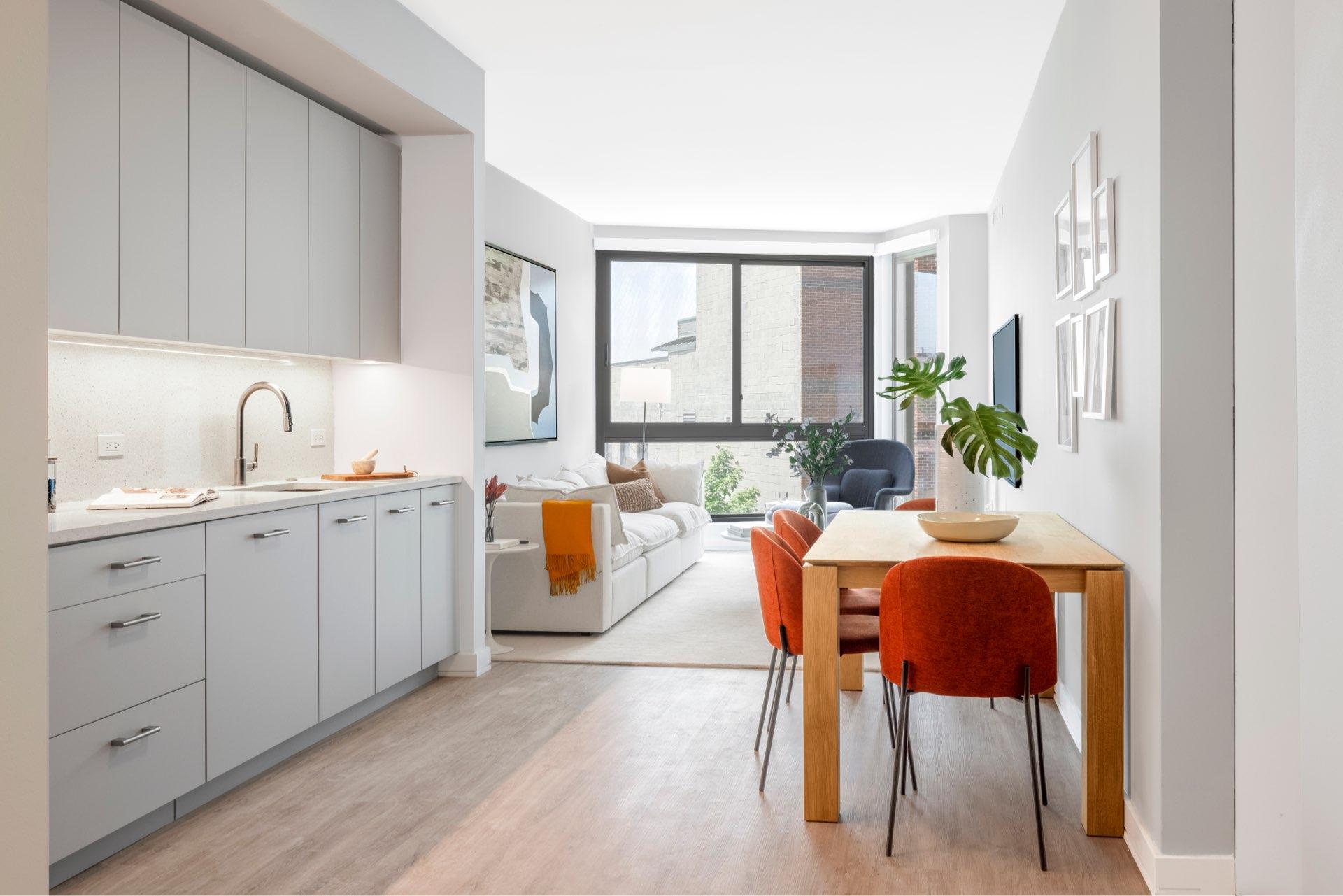 Bright, airy Adams Morgan apartment homes