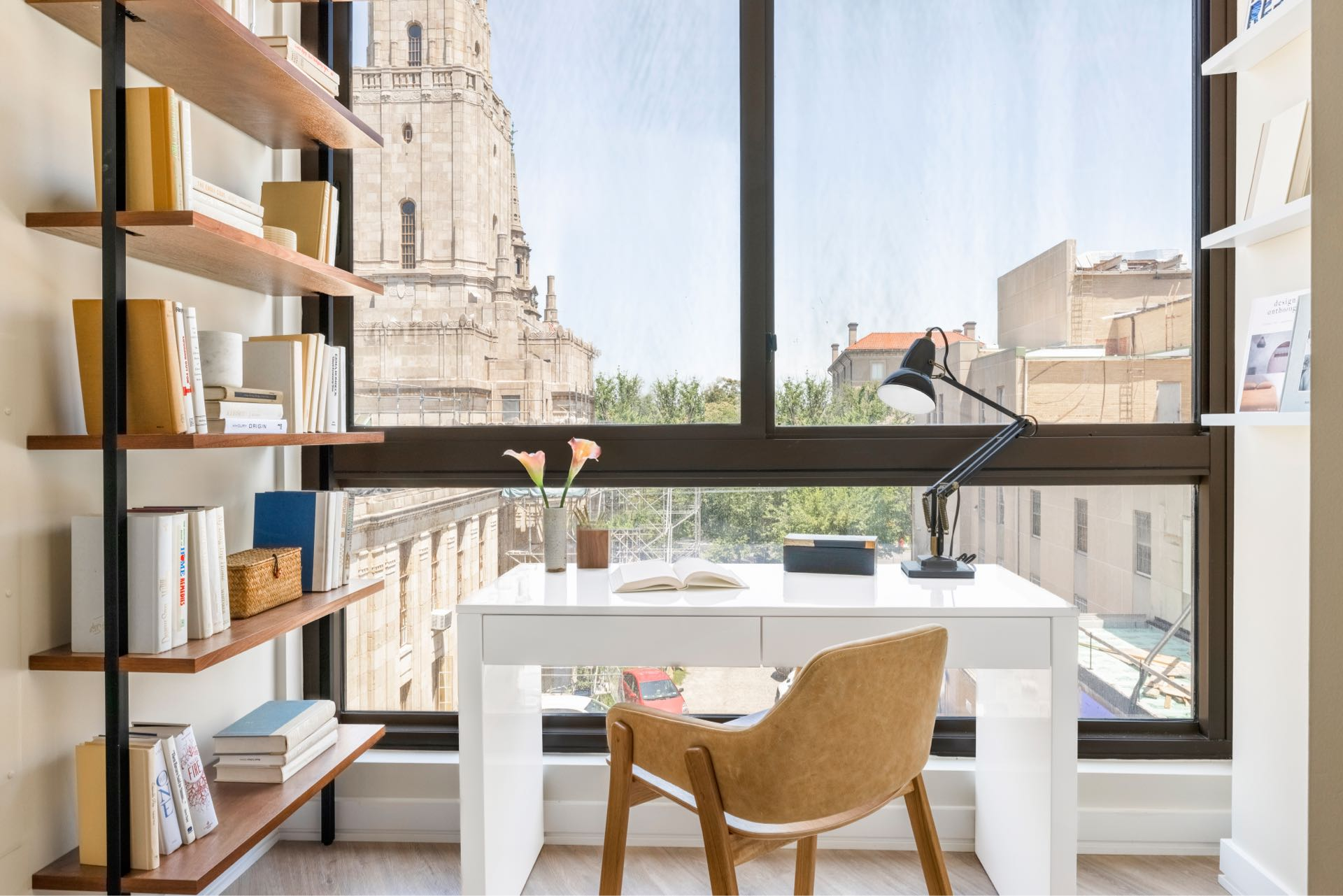 Designated office nooks in select homes